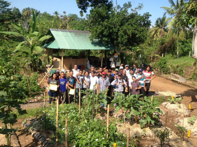 Permaculture Training at IDEP Training Center with 19 Farmers From World Vision Indonesia Chapter Manggarai