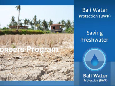 "Discover ""iwantmyname"", Pioneer sponsor of the Bali Water Protection program"