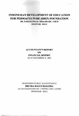 Auditor Report 2005