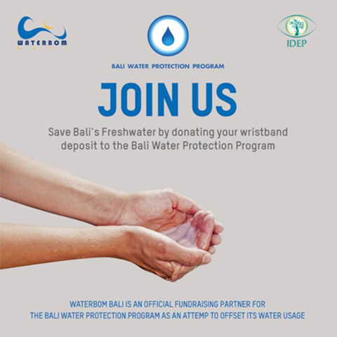 Waterbom Bali Going Further in Protecting Bali's Freshwater
