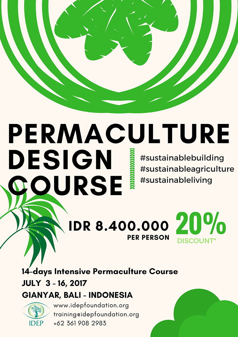 IDEP Foundation - Permaculture Design Course